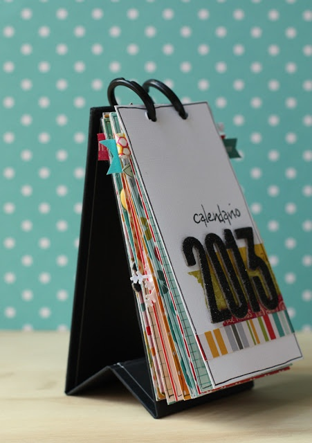 Desk calendar by Eva Pizarro using Seen & Noted