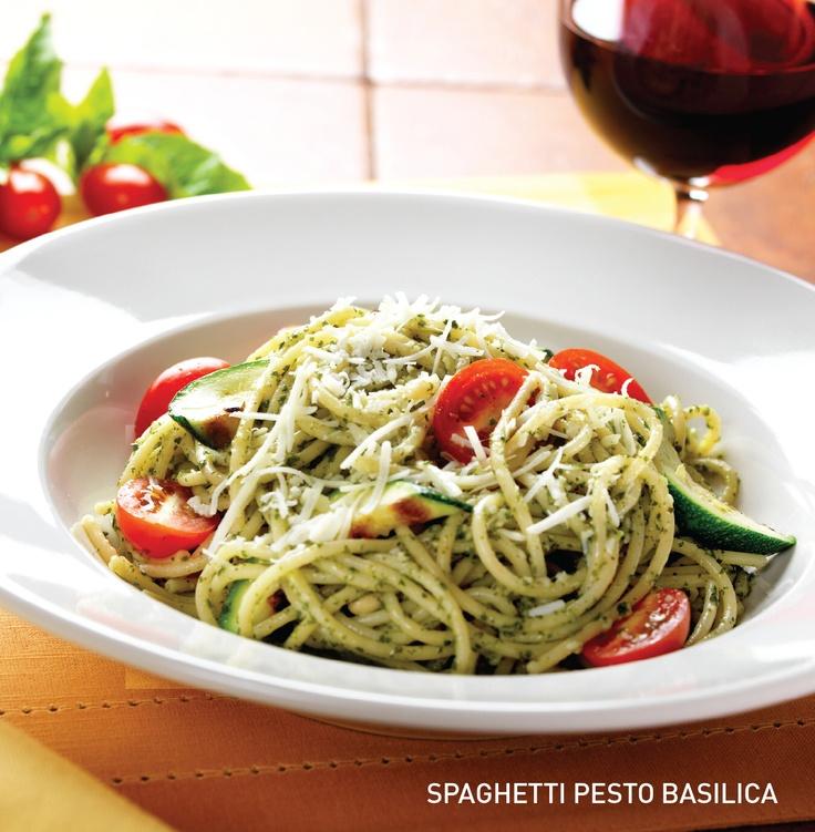 Spaghetti Pesto Basilica