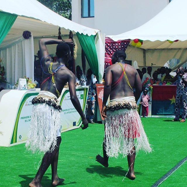 Prestation de danse tchadienne à la Semaine de l'intégration Africaine