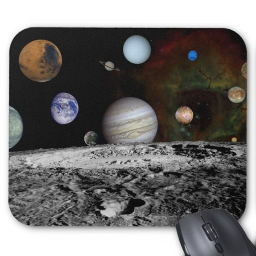 Solar System Montage Mousepad
