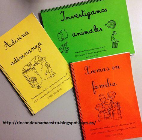 """Rincón de una maestra: Nuestros """"Libros recopilatorios"""""""