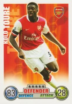 2007-08 Topps Premier League Match Attax #5 Kolo Toure Front