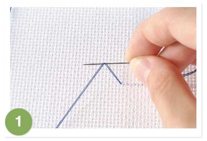 Great French knot tutorial - I always have trouble with French knots!!