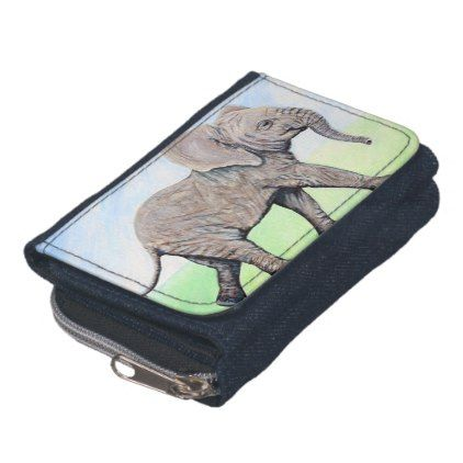 Little Elephant Wallet - animal gift ideas animals and pets diy customize