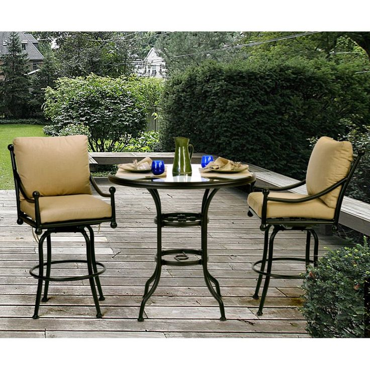 Bar Height Patio Set   Google Search