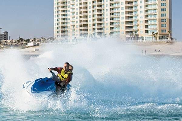 Feel the rush! Jet ski on the amazing blue water of Panama ...