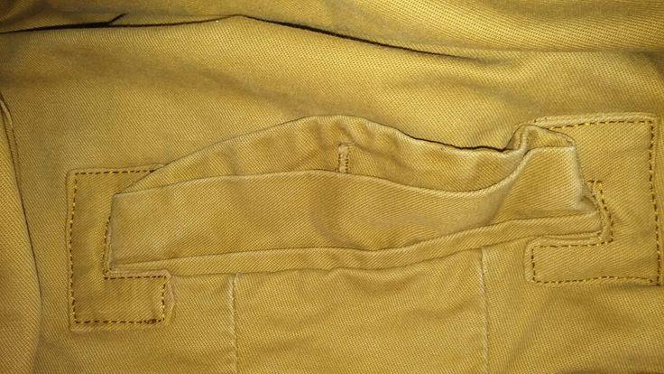 Como arreglar el desgarrado de un bolsillo
