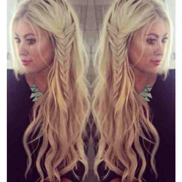 Tremendous 1000 Ideas About Boho Hairstyles On Pinterest Half Up Short Hairstyles Gunalazisus