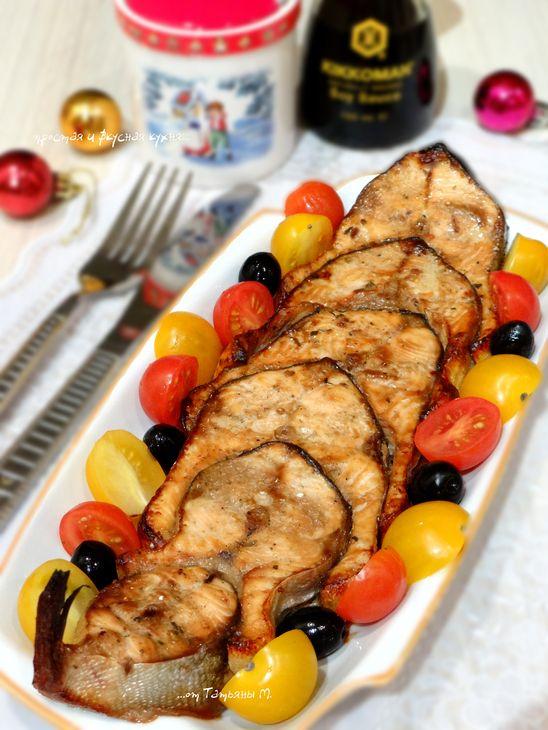 ГОРБУША ГРИЛЬ-ТЕРИЯКИ!  Так мало ингредиентов дали такое превосходное блюдо. Удивительно!  http://www.koolinar.ru/recipe/view/122193