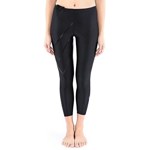 JIMMY DESIGN Damen Kompressionshose Laufen - Schwarz/Schwarz Pfeil - XL - http://on-line-kaufen.de/jimmy-design/42-44-taille-76-81cm-jimmy-design-damen-leggings-s-m-7