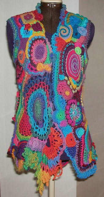 Aventures Textiles: Freeform suite et fin
