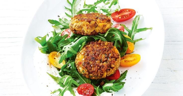 These easy vegetarian patties make for a great lunch-on-the-go.