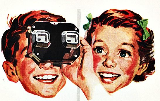 Vacation With A Vintage View  #Vintage #viewmaster