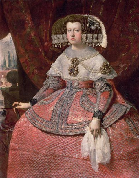 Queen Maria Anna of Spain. Velazquez, 1655.
