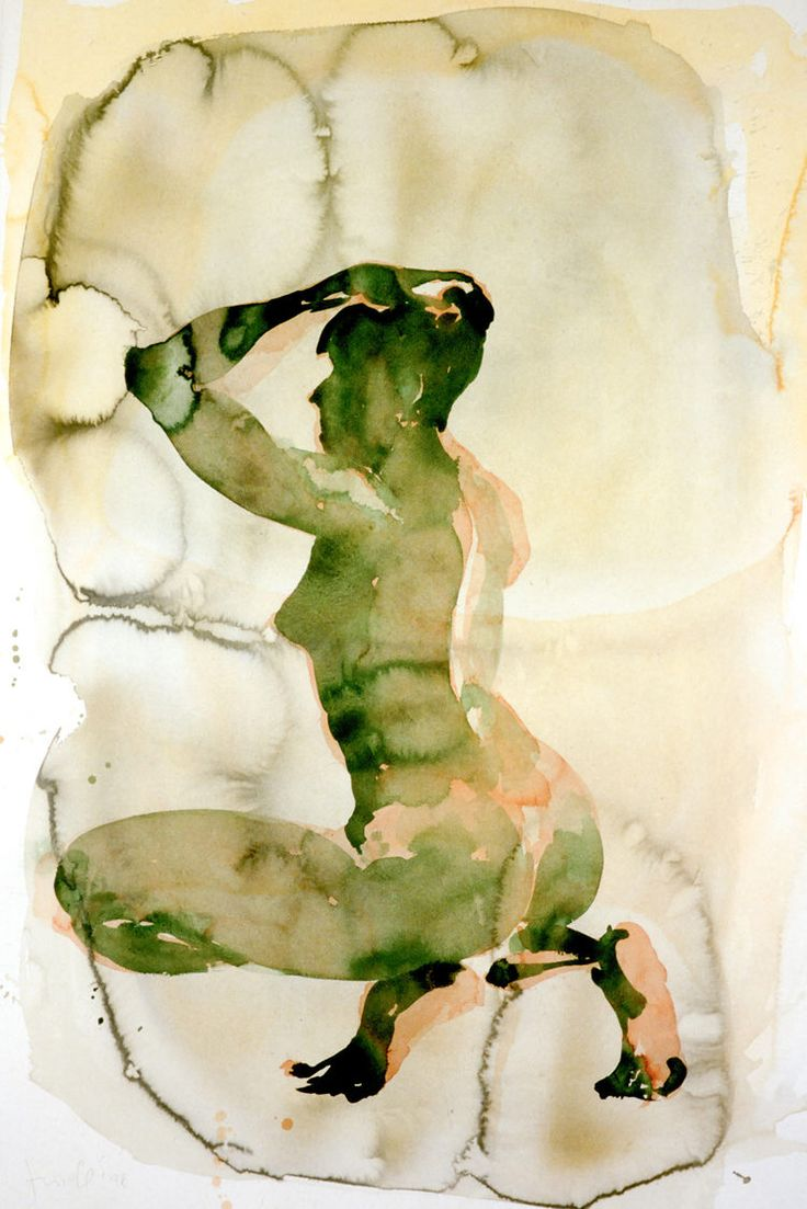Today, we take a look at this beautiful series of both abstract and figurative watercolor work by renowned painter, Eric Fischl that spans from about...