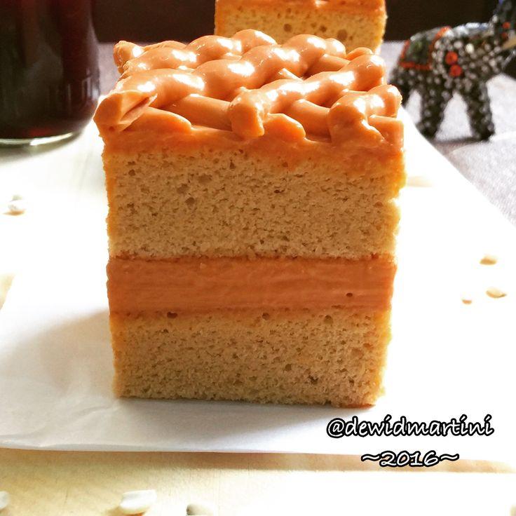 Thai Milktea Cake