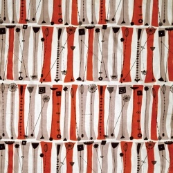 Palisade, furnishing textile by Lucienne Day