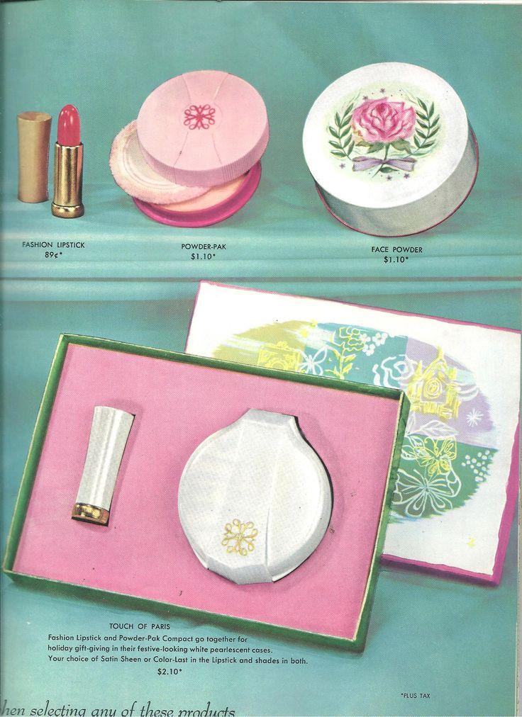 Avon Representative catalog Campaign (C)16-1958, page 24, gift set amazing !