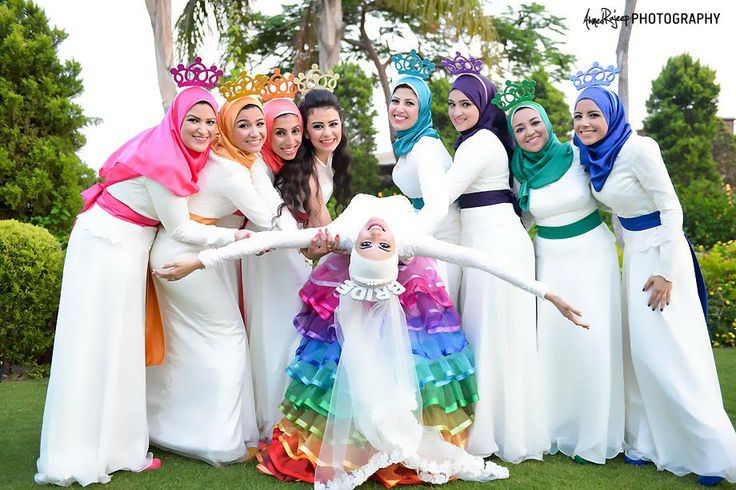Ahmed Rajeep Photography Muslim Wedding with Bridesmaids