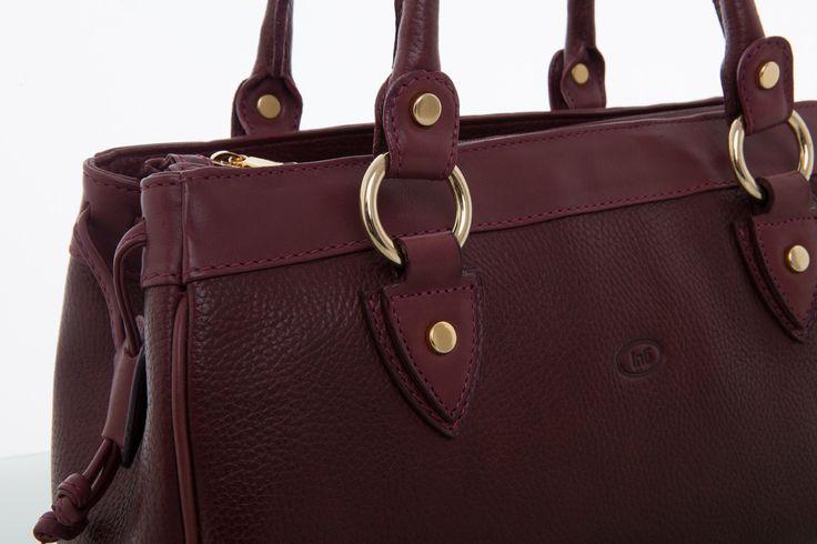 Cathy Prendergast Irish Designer Leather Handbags - Banba Burgundy Tote Bag | Cathy Prendergast