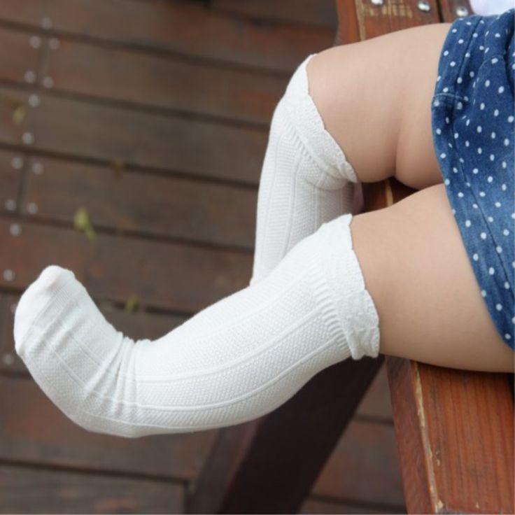 秋のベビー子供靴下女の子のための新生児幼児ニーハイレース靴下長い女の子かわいいレッグウォーマー用新生児乳児キツネソックス