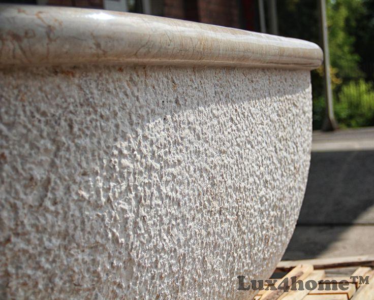 #Wanny z kamienia od Lux4home™ Marmurowa wanna wykonana z jednego bloku kamienia!