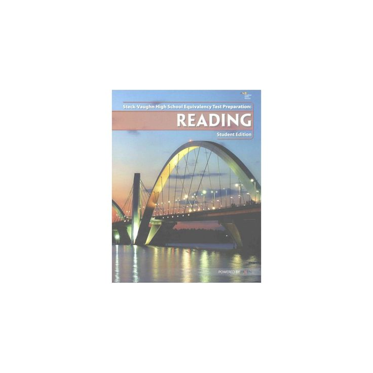 Steck-Vaughn High School Equivalency Test Preparation : Reading (Paperback)