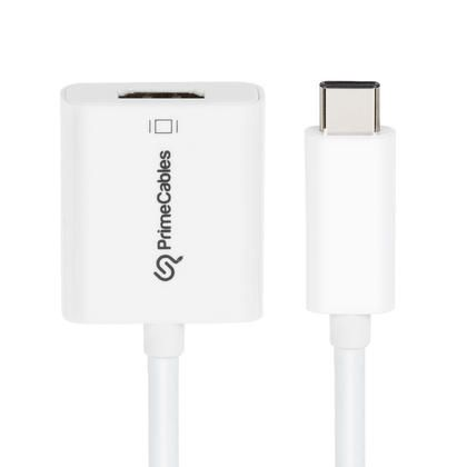 USB Type-C to HDMI adapter - white - PrimeCables