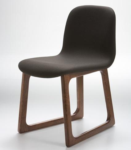 Tiller on timber dark leather by Ross Didier insitu furniture