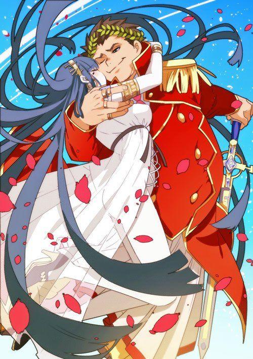 HSIU High Quality Fate/Grand Order Cosplay Wig Kiyohime