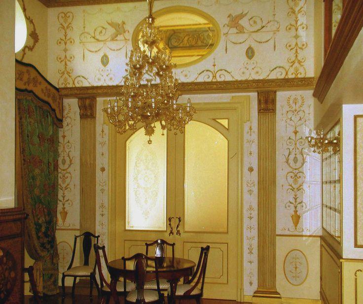 Decorazioni 1018 854 decorazione murale - Decorazioni grottesche ...