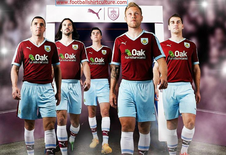 Burnley 15/16 Puma Home Football Shirt