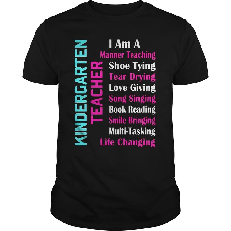 Kindergarten Trainer Humorous Quote Reward T Shirt  T Shirt