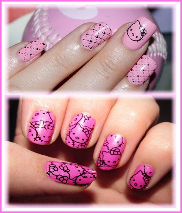 524 best hello kitty nails images on Pinterest | Hello kitty nails ...
