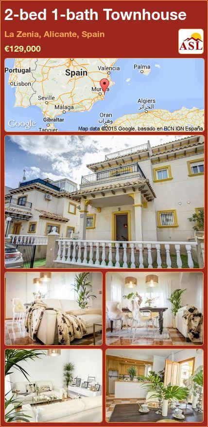 2-bed 1-bath Townhouse in La Zenia, Alicante, Spain ►€129,000 #PropertyForSaleInSpain