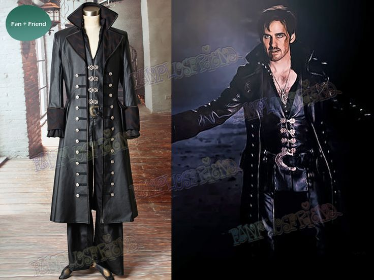 captain hook once upon a time costume On a show like once upon a time, it's hard not to be enchanted by the wardrobe his costumes are elaborate and perfect for captain hook.