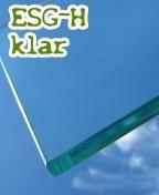 ESG-Sicherheitsglas - klar, ca. 50€/qm