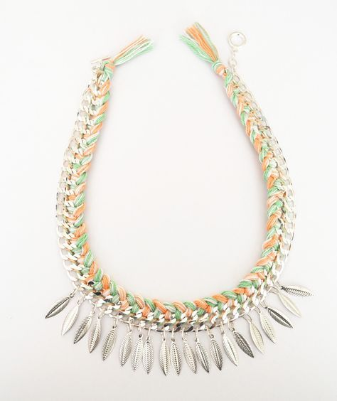 Gabulle in Wonderland: #DIY Tuto : le collier plastron ( Do it yourself : ethnic collar necklace, braided necklace ) Faire ses bijoux soi-même : collier tressé ethnique.