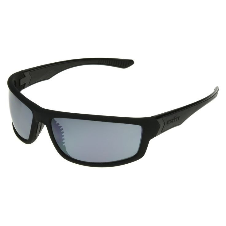 Men's Ironman Full Frame Scratch and Impact Resistant Performance Sunglasses - Black
