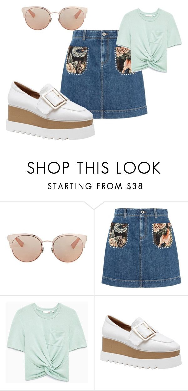 """""""I miss summer"""" by rosamackenzie on Polyvore featuring Christian Dior and STELLA McCARTNEY"""