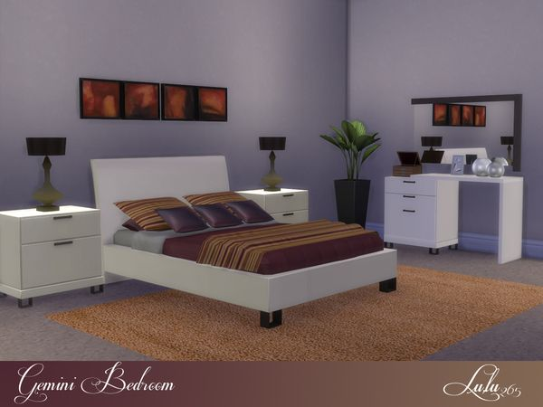 64 best bedroom set for sims 2,3,4 images on Pinterest | Bedroom ...