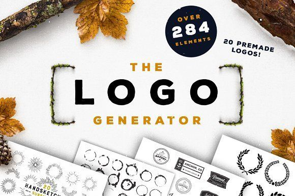The Logo Generator by Layerform Design Co. on @creativemarket