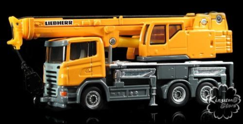 Siku 1859 Liebherr Telescopic Crane Scania Truck Construction Equipment | eBay