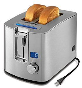 #bestoftheday #FF This two slice toaster review looks at the Black & Decker Two Slice Toaster TR1280S. It's a stylish upgrade to any contemporary kitchen, with its classic clean lines in stainless steel complemented by blue backlight and LED display. But it's also good value and a strong, powerful...