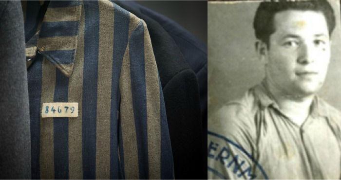 La chaqueta de un prisionero del Holocausto es adquirida en una venta de garaje por dos dólares - http://diariojudio.com/noticias/la-chaqueta-de-un-prisionero-del-holocausto-es-adquirida-en-una-venta-de-garaje-por-dos-dolares/221539/