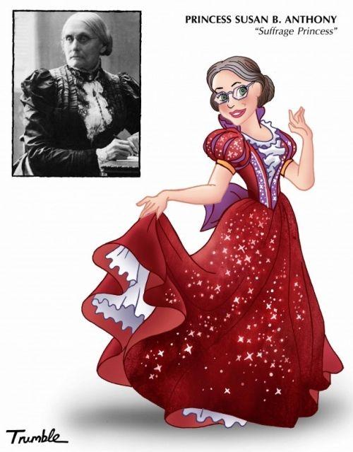 Female role models as Disney princesses