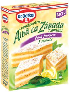 Ingrediente pentru prăjituri - Creme Dr.Oetker
