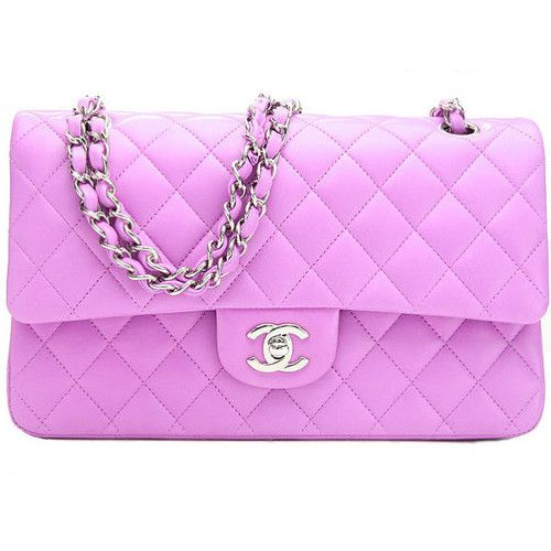 I'd love to have a Chanel bag in a totally impractical color!!