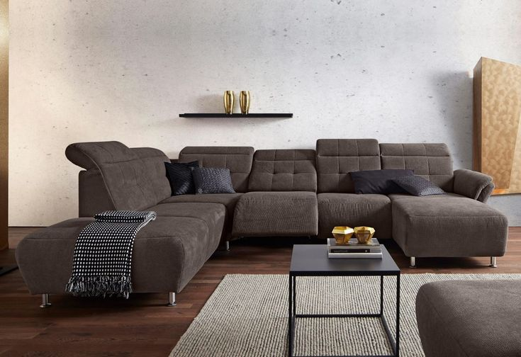Die besten 25 braunes sofa ideen auf pinterest braune for Sofas und wohnlandschaften