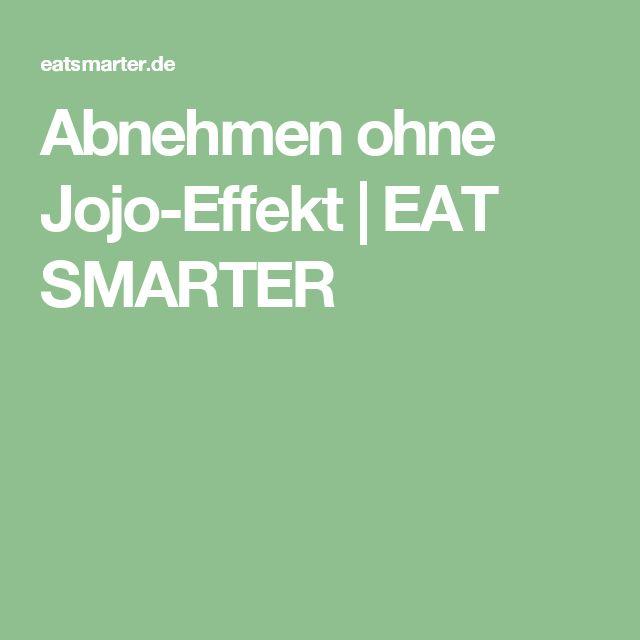 Abnehmen ohne Jojo-Effekt | EAT SMARTER